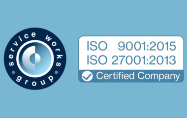Service Works Awarded ISO 9001 and 27001 certifications