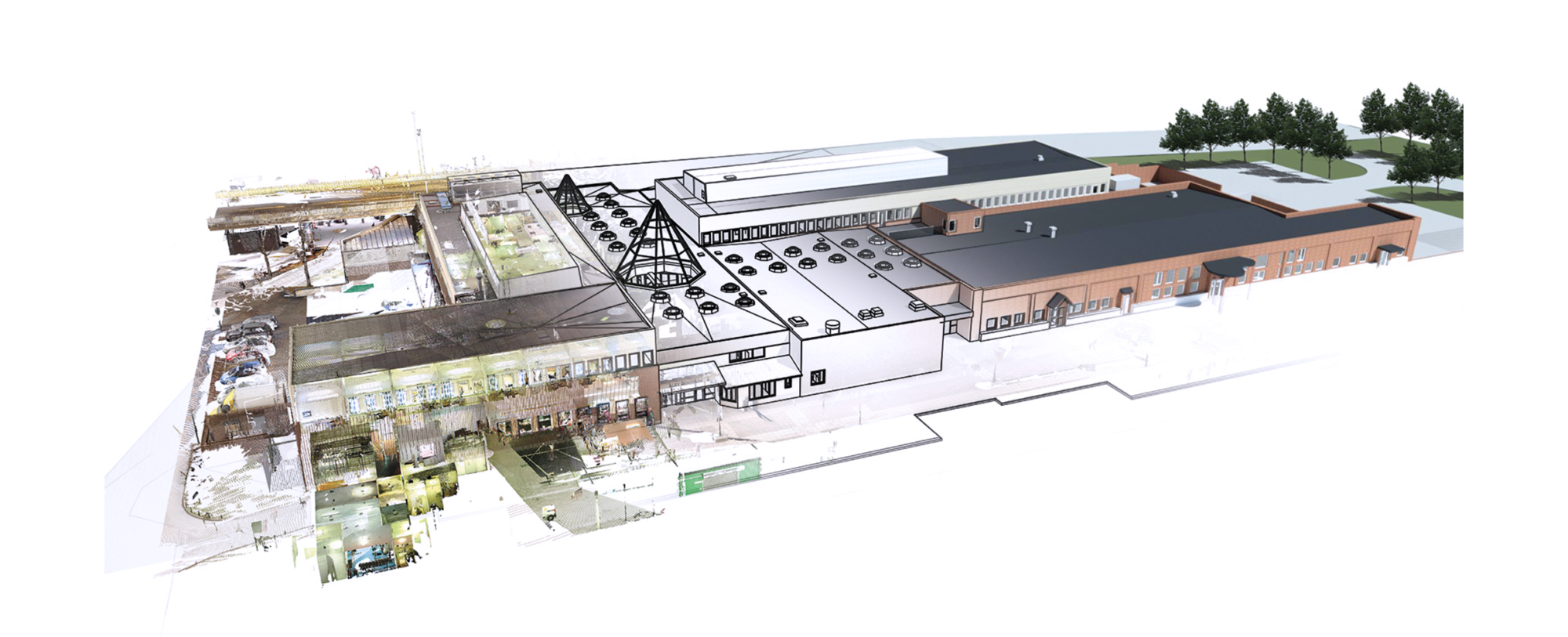 How to digitize existing buildings