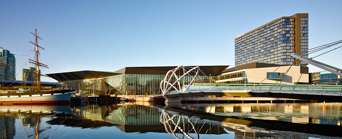 Software for facility managers by SWG used at Melbourne Convention & Exhibition Centre