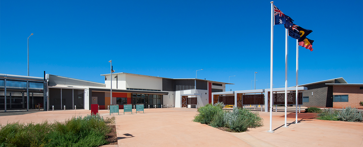 Eastern Goldfields Regional Prison (EGRP) and QFM from Service Works