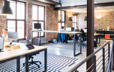 The future office- hybrid workplace