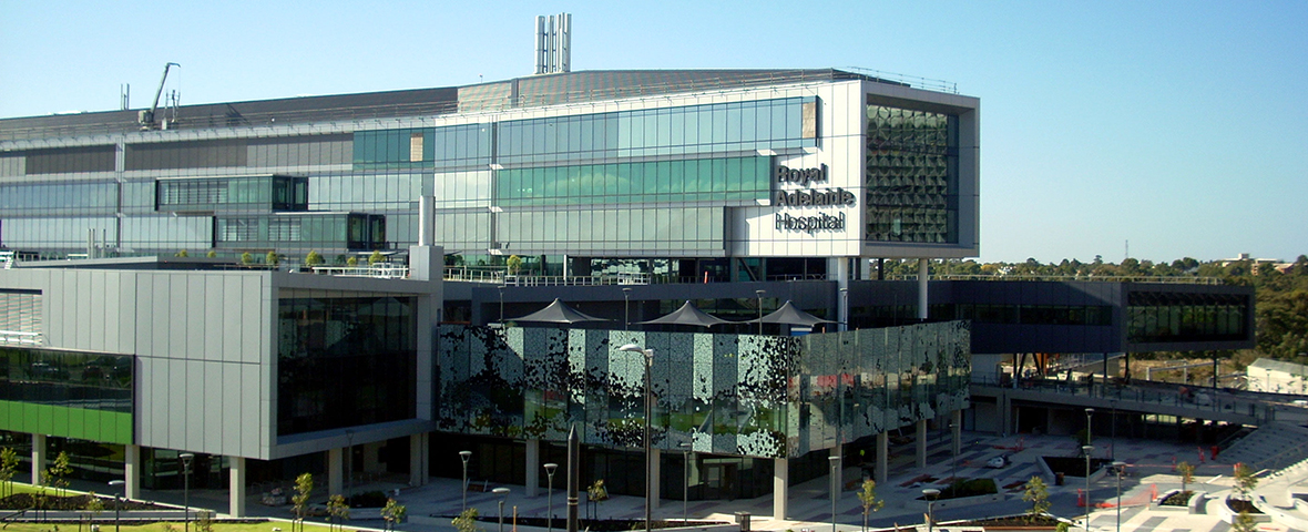 CAFM software integration with third-party systems at New Royal Adelaide Hospital