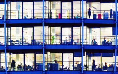 Managing a outside of a workplace using nanotechnology